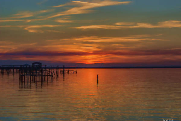 Photograph - Sunset On The Bay Two by Roberta Byram