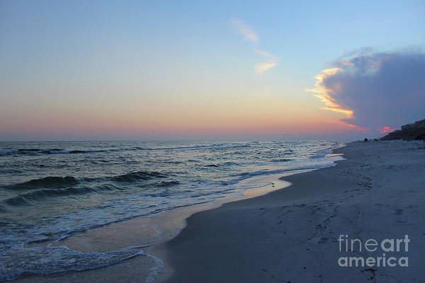 Photograph - Sunset On The Beach by Karen Adams
