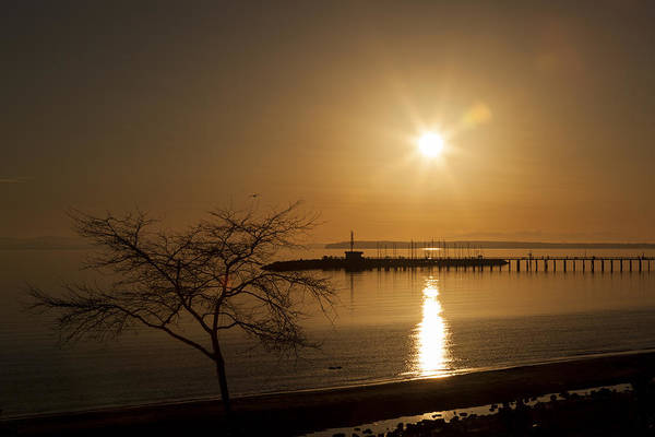Wall Art - Photograph - Sunset On The Boardwalk 2 by Monte Arnold