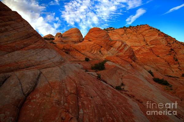 Photograph - Sunset On The Candy Cliffs by Adam Jewell