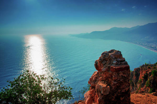 Photograph - Sunset On The Castle Of Alanya by Sun Travels