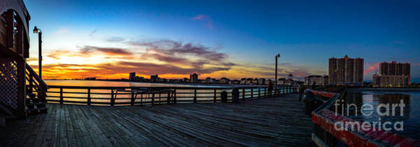Photograph - Sunset On The Cherry Grove Pier by David Smith