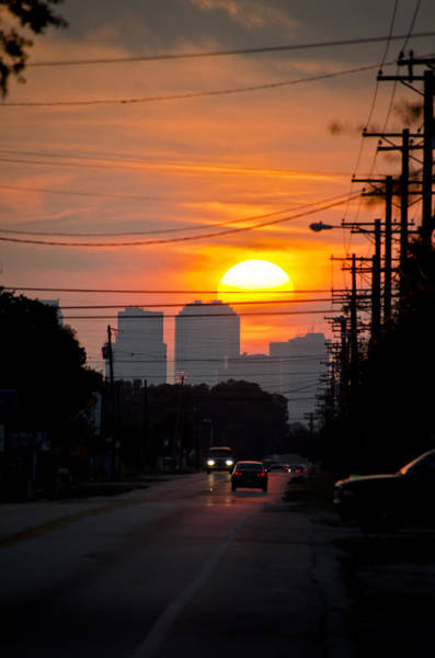 Photograph - Sunset On The City by Carolyn Marshall