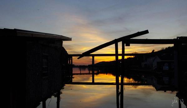 Coosa River Photograph - Sunset On The Coosa River by Lori Kingston