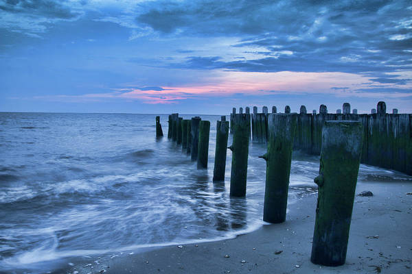 Photograph - Sunset On The Delaware Bay by Kristia Adams