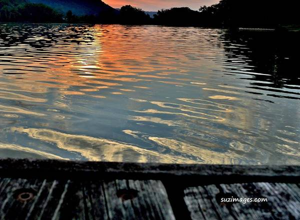 Photograph - Sunset On The Dock 2 by Susie Loechler