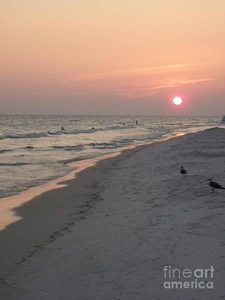 Photograph - Sunset On The Gulf Coast by Tammie J Jordan