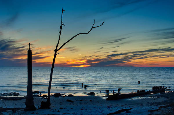 Wall Art - Photograph - Sunset On The Gulf Of Mexico by Rich Leighton
