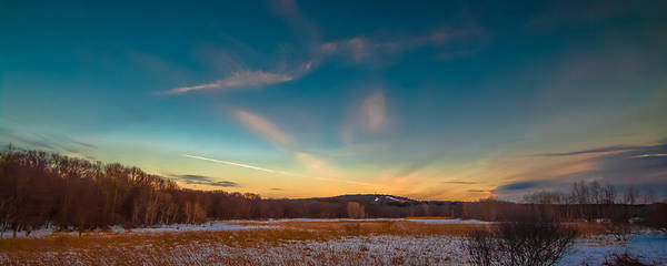 Photograph - Sunset On The Hill by Brian MacLean