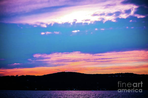 Wall Art - Photograph - Sunset On The Hudson by Colleen Kammerer