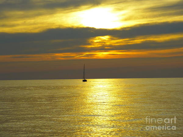 Photograph - Sunset On The Lake by Donald C Morgan
