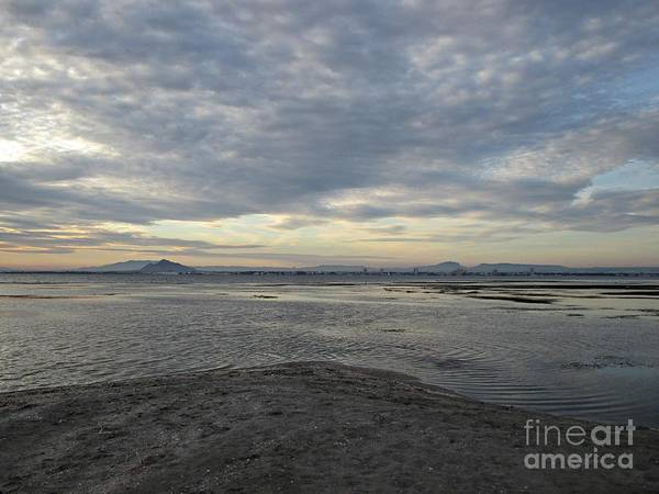 Photograph - Sunset At Manga Del Mar Menor by Chani Demuijlder