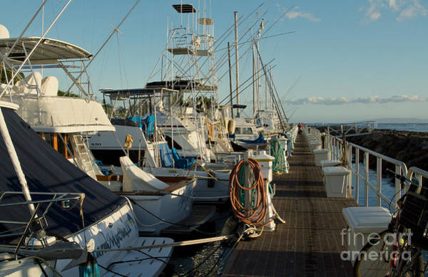 Photograph - Sunset On The Marina Lahaina Maui by Sharon Mau