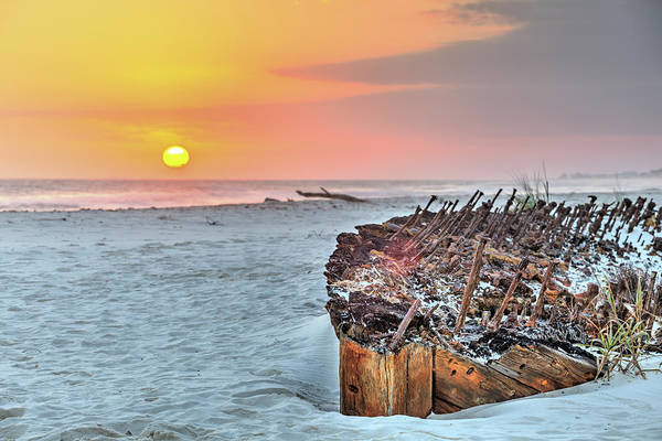 Wall Art - Photograph - Sunset On The Rachel by JC Findley