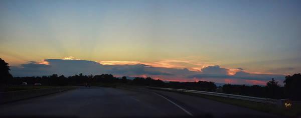 Photograph - Sunset On The Ridge by Paulette B Wright