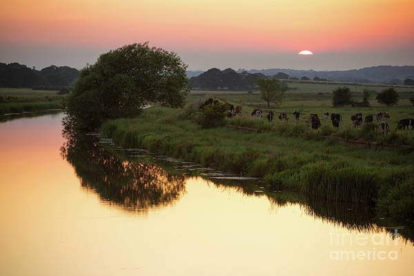 Photograph - Sunset On The River 2 by Perry Rodriguez