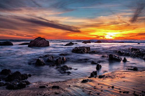 Photograph - Sunset On The Rocks by Jason Roberts