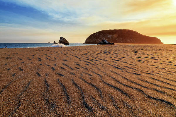 Photograph - Sunset On The Sands Of Brookings by James Eddy