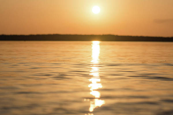 Photograph - Sunset On The Water by Andrea Anderegg