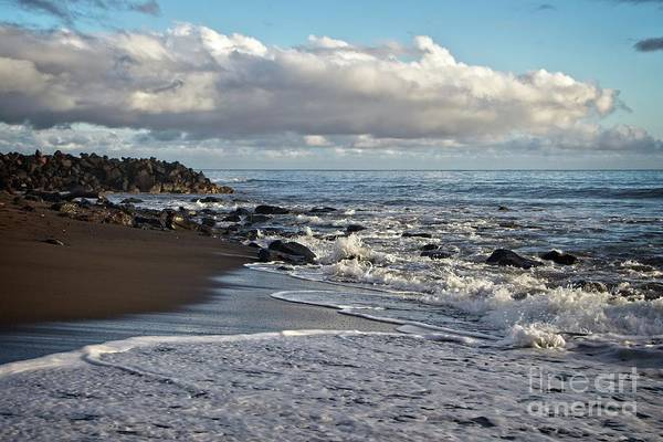 Photograph - Sunset On Waimea Bay by Teresa Wilson