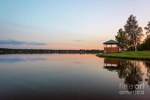 Photograph - Sunset On Wasilla Lake by Paul Quinn