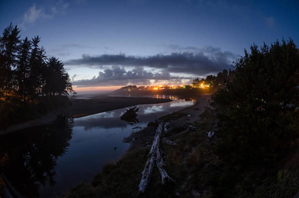 Photograph - Sunset On Yachats River by Margaret Pitcher