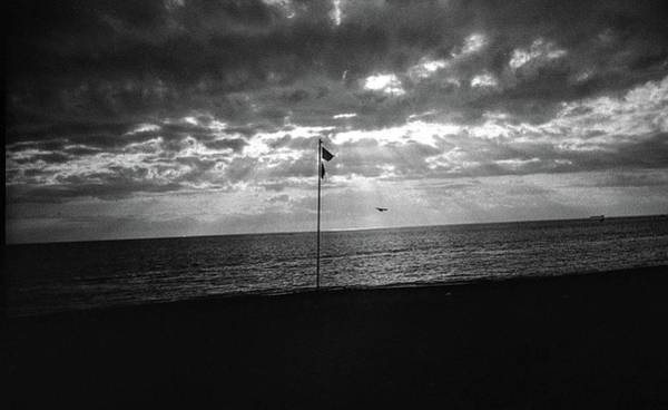 Photograph - Sunset Ostia Beach by Nacho Vega
