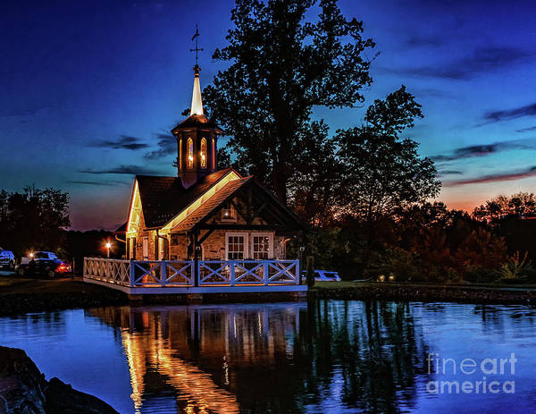 Photograph - Sunset Over The Barn by Nick Zelinsky