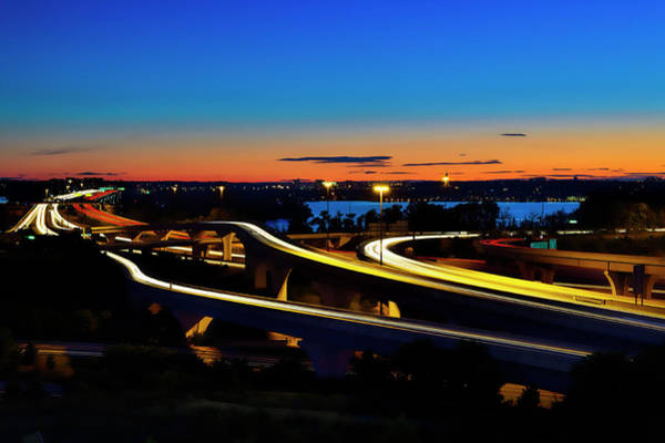 Photograph - Sunset Over 495 by Bill Dodsworth