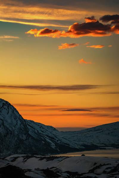Photograph - Sunset Over Badderfjorden Norway by Adam Rainoff