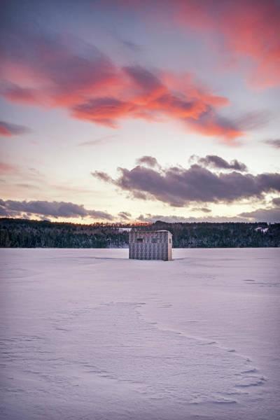 Photograph - Sunset Over Bear Pond by Darylann Leonard Photography