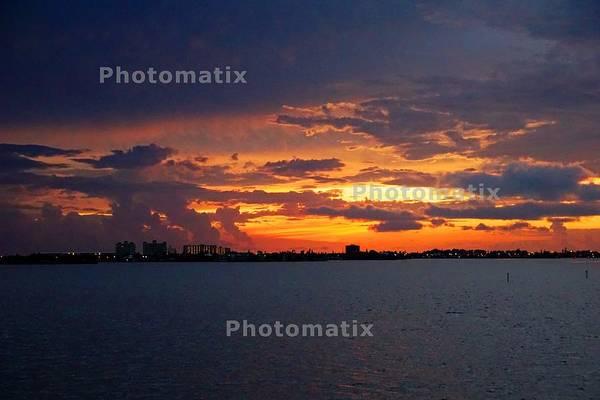 Willett Photograph - Sunset Over Boca Ciega Bay by Mike Willett
