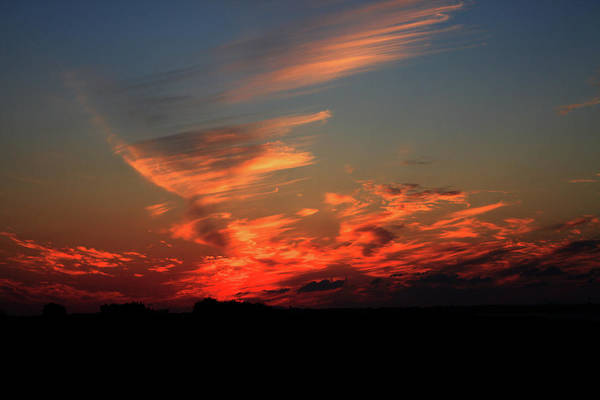 Photograph - Sunset Over Brittany Coast by Aidan Moran