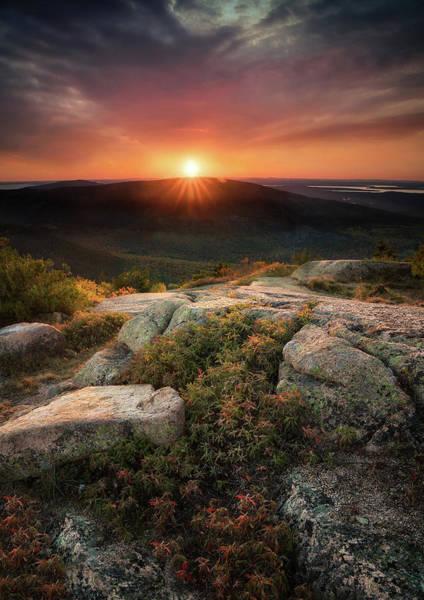Photograph - Sunset Over Cadillac by Darylann Leonard Photography