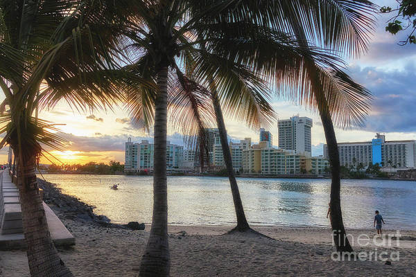 Wall Art - Photograph - Sunset Over Condado by George Oze