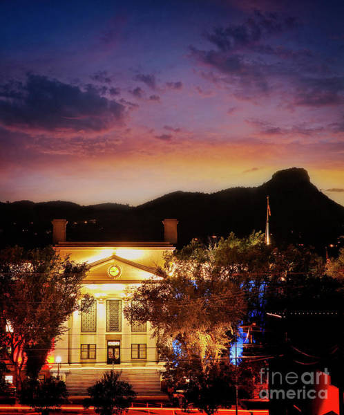 Photograph - Sunset Over Courthouse by Scott Kemper