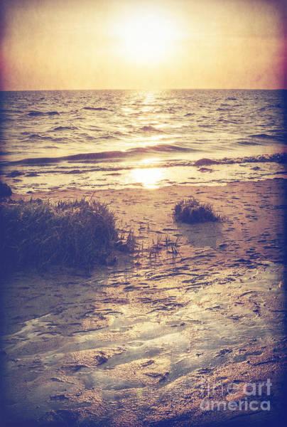 Photograph - Sunset Over Delaware Bay by Debra Fedchin