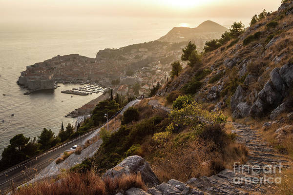 Photograph - Sunset Over Dubrovnik by Didier Marti