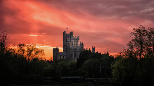 Photograph - Sunset Over Ely by James Billings