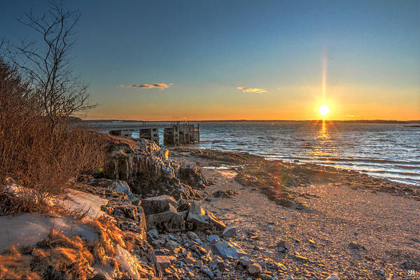 Photograph - Sunset Over Englishman Bay by John Meader