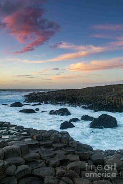 Photograph - Sunset Over Giant's Causeway by Brian Jannsen