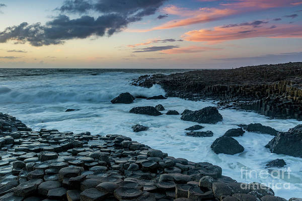 Photograph - Sunset Over Giant's Causeway II by Brian Jannsen