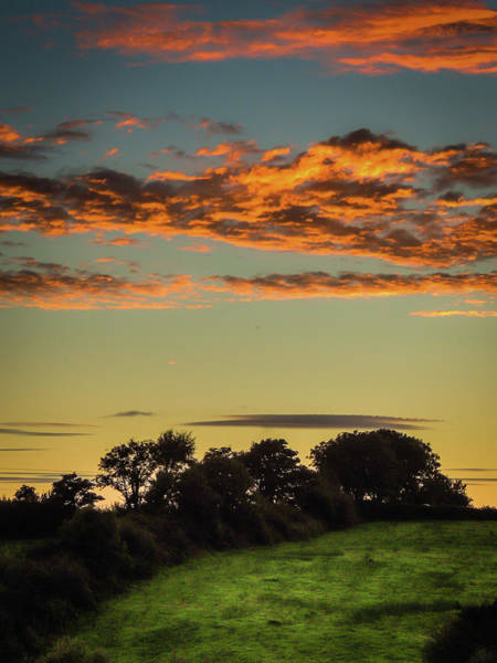 Photograph - Sunset Over Green Pastures by James Truett