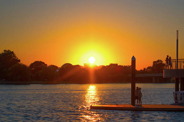 Photograph - Sunset Over Hains Point by Marvin Bowser