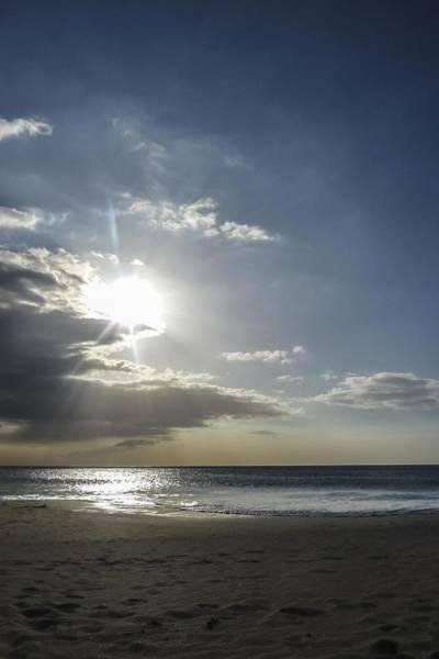 Photograph - Sunset Over  Hapuna Beach by NaturesPix