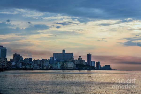 Evening Wall Art - Photograph - Sunset Over Havana City 1 by Viktor Birkus