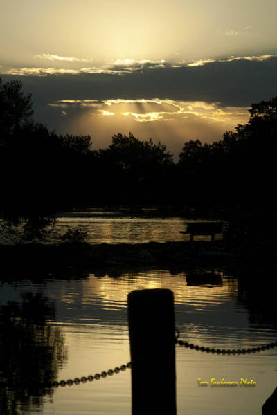 Lethbridge Photograph - Sunset Over Henderson by Tom Buchanan
