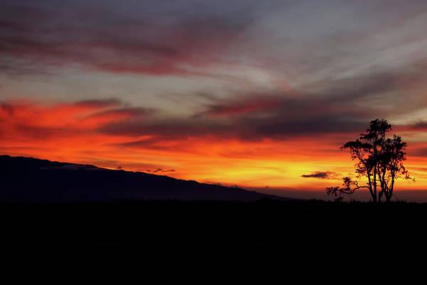 Photograph - Sunset Over Hualalai by Pamela Walton