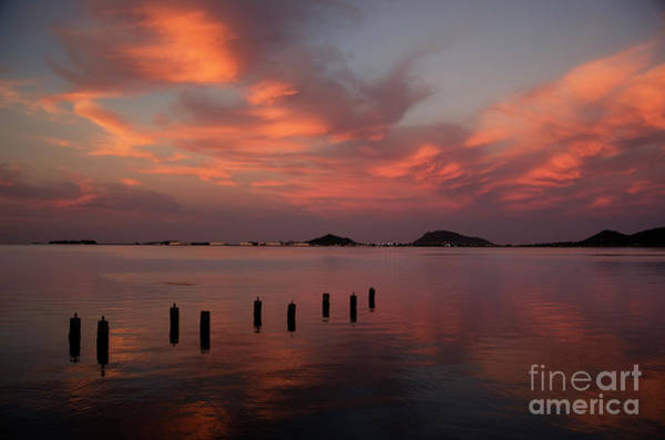 Photograph - Sunset Over Kaneohe Bay by Charmian Vistaunet