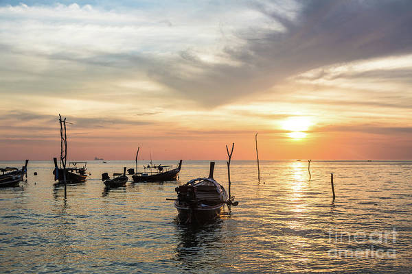 Photograph - Sunset Over Koh Lanta by Didier Marti